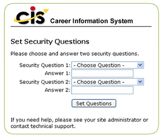 set security questions image